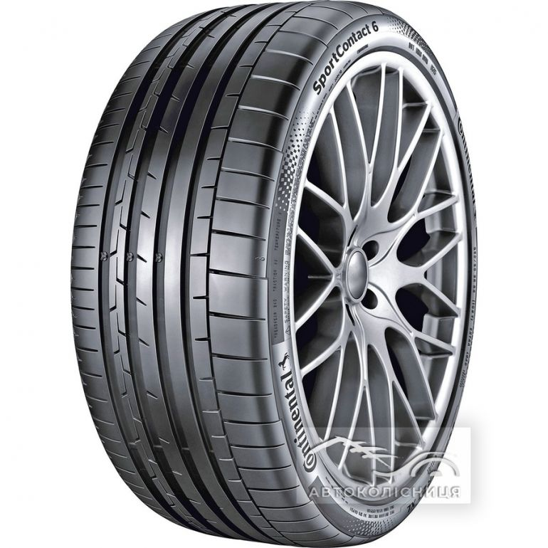 Continental SportContact 6 255/30 R20  92Z